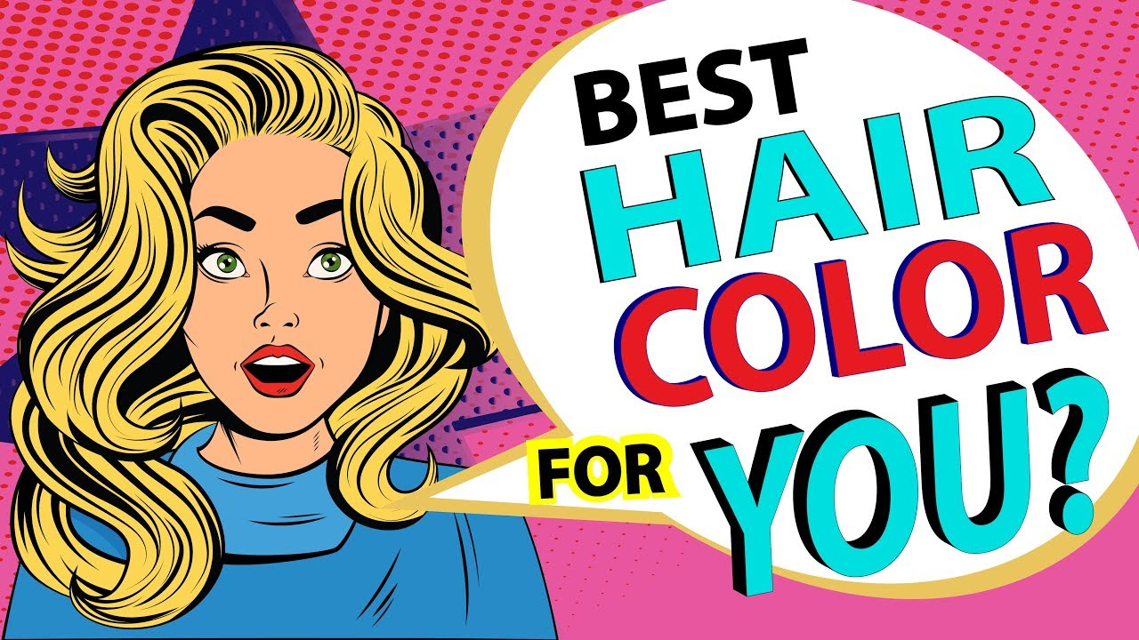 Which Hair Color Suits Your Personality Personality Test Youtube
