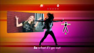 (PS3) Avril Lavigne - What The Hell | Everybody Dance 2