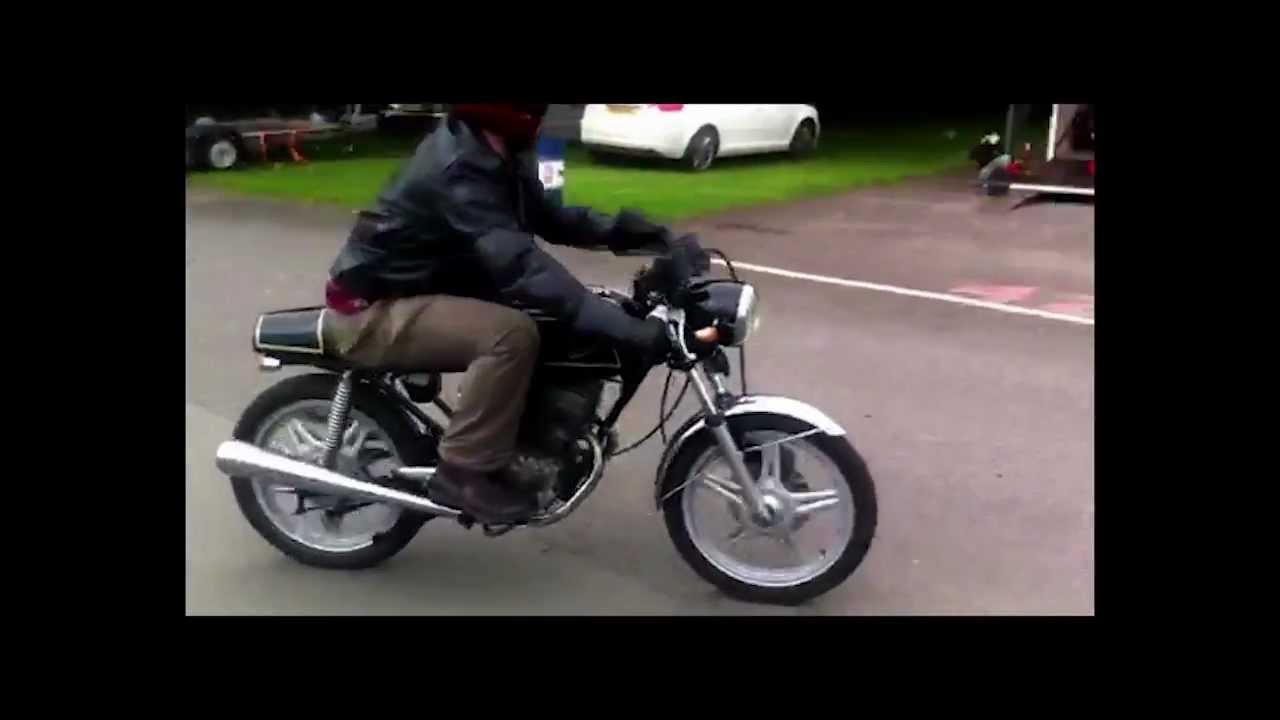 honda cb125t cafe racer - youtube