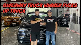 CALIFORNIA TRUCK WINNER PICKS UP THE TRUCK