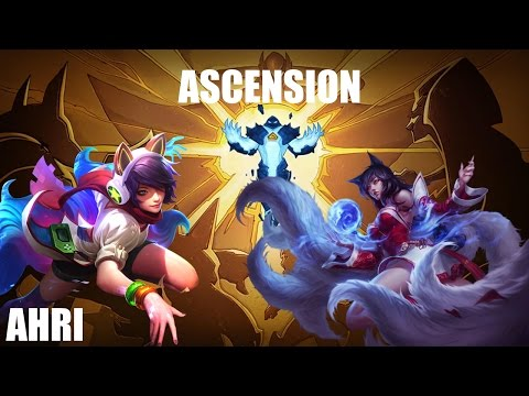 "Ascension #2 ""Ahri"" League of Legends (No Comment) Gameplay"