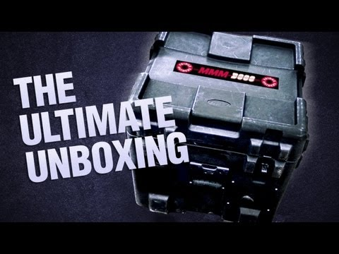 The MMM3000 'Ultimate Gaming Helmet' Unboxing!