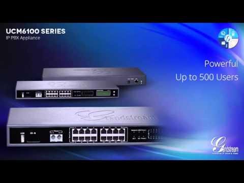 UCM6100 series IP PBX from Grandstream  UCM6102  بدالات هواتف انترنت من جراند ستريم