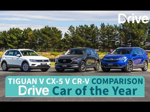 2017 Volkswagen Tiguan v Mazda CX-5 v Honda CR-V   Best Small SUV - Dauer: 4 Minuten, 38 Sekunden