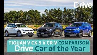 2017 Volkswagen Tiguan v Mazda CX-5 v Honda CR-V | Best Small SUV(, 2017-11-15T21:29:01.000Z)