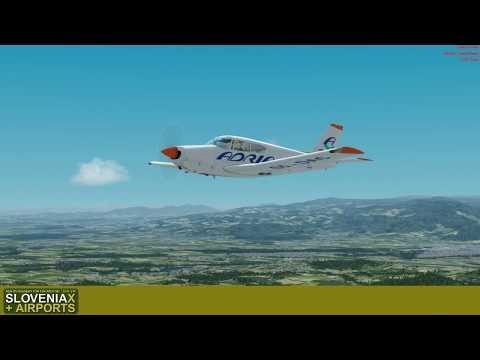 VFR Flight From Maribor (LJMB Lite) To Murska Sobota (LJMS) - Slovenia X And Airports Ep. 06