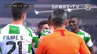 Goal   Golo João Aurélio: Moreirense (2)-2 FC Porto (Liga 19/20 #16)