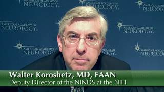 Dr. Koroshetz Discusses Neurology as a Career Path
