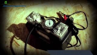 Автомобильный компрессор Гладиатор DA 1102.Купить автокомпрессор смотреть