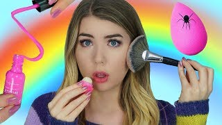 11 MAKEUP PRANKS! + DIY EDIBLE MAKEUP IDEAS! *FUNNY*