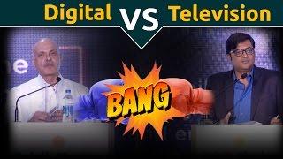 Digital Vs TV: Raghav Bahl Debates Arnab Goswami
