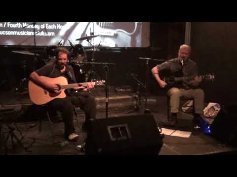 'Catalina Coyotes' at the Tucson Musicians Club Meeting at 'The Hut' 1-22-18