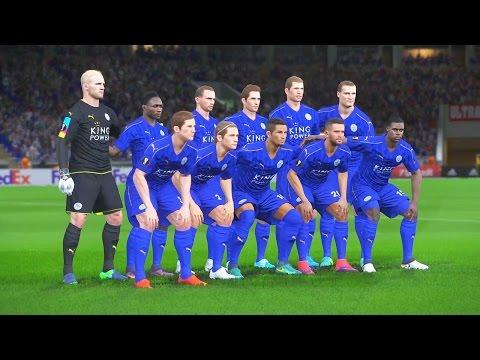 PES 2017 - RUMO AO ESTRELATO #23 - LEICESTER CITY na UEFA EUROPA LEAGUE (Gameplay PS4/XONE)