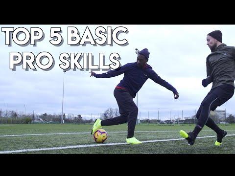 TOP 5 MOST EFFECTIVE BEGINNER FOOTBALL SKILLS