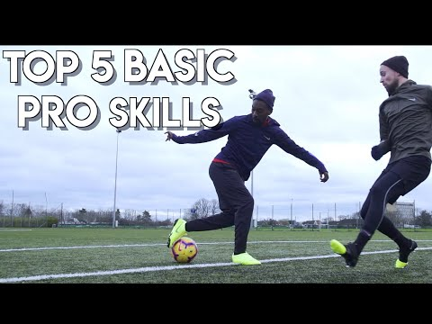 TOP 5 MOST EFFECTIVE BEGINNER FOOTBALL SKILLS