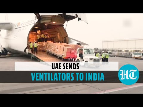 Watch: Cargo arrives from UAE with ventilators, medical supplies for India