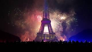 Bastille Day Fireworks in Paris 2017