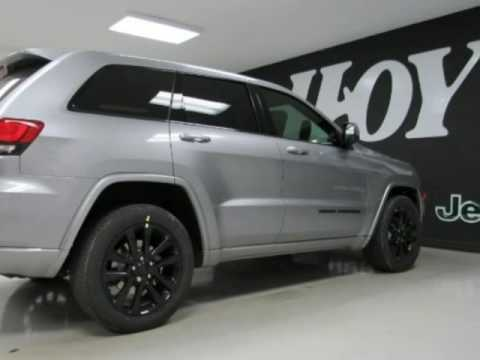 Jeep Cherokee Altitude >> 2017 JEEP GRAND CHEROKEE Altitude New Silver SUV For Sale The Colony TX - YouTube
