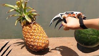 Karambit vs Pineapple & watermelon - Fruit Ninja - Wolverine