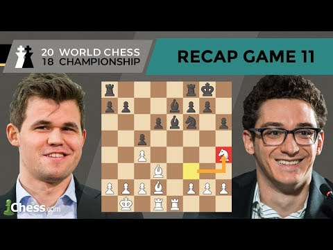 Carlsen vs Caruana (Game 11 Analysis) | World Chess Championship 2018