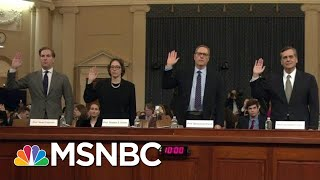 Giuliani Visits Ukraine As House Holds Impeachment Hearings On Ukraine Plot | MSNBC