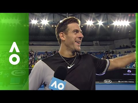 Juan Martin del Potro on court interview | Australian Open 2018