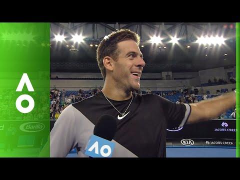 Juan Martin del Potro on court interview | Australian Open 2018
