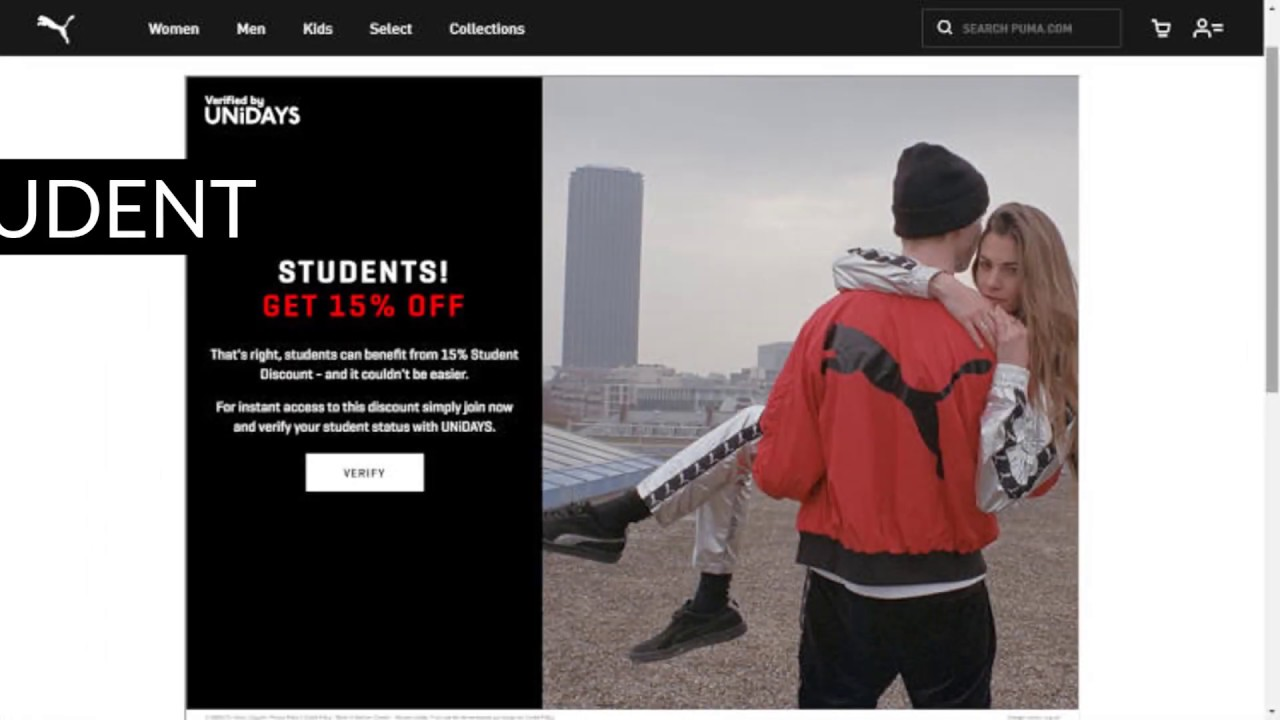 Puma Student Discount   20% Code + 60