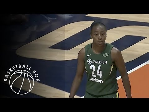 [WNBA] Seattle Storm vs Connecticut Sun, Full Game Highlights, July 20, 2018