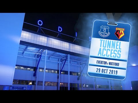 Download UNDER THE LIGHTS AT GOODISON!   TUNNEL ACCESS: EVERTON V WATFORD