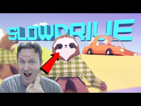 SlowDrive - One Sloth, One Car, all Rage | an Itch.io Find