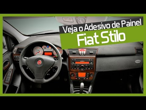Adesivo De Painel Para Fiat Stilo Youtube
