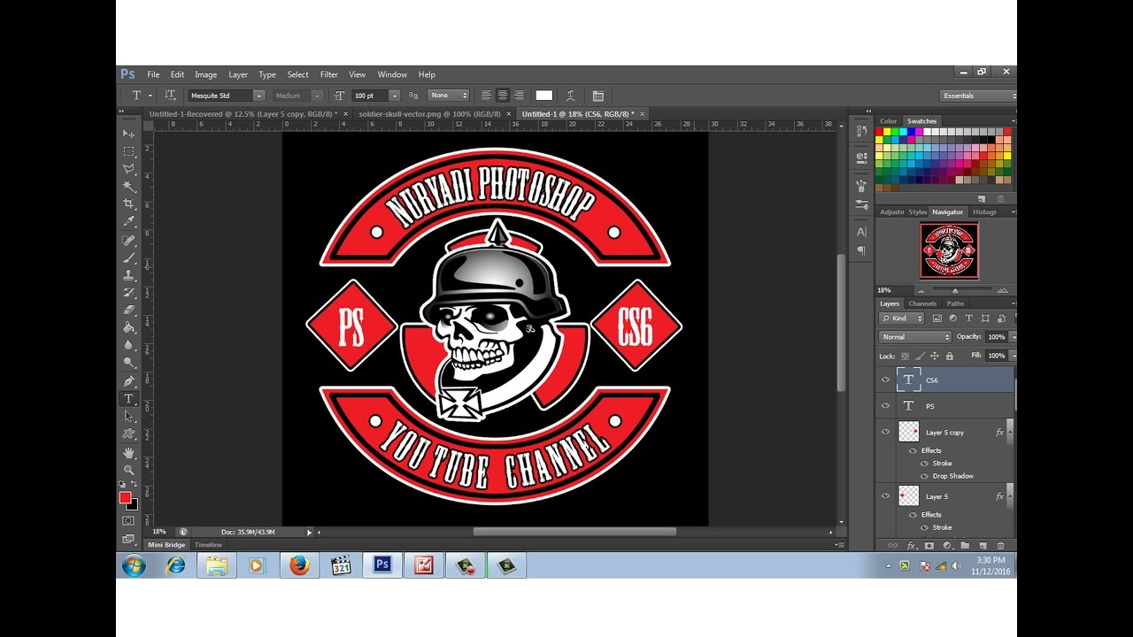 Cara Membuat Logo Club Motor 1 Youtube