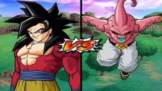 [TAS] DBZ BT3 Goku (GT) Vs. Kid Buu (Enhanced Red Potara) (Request Match)