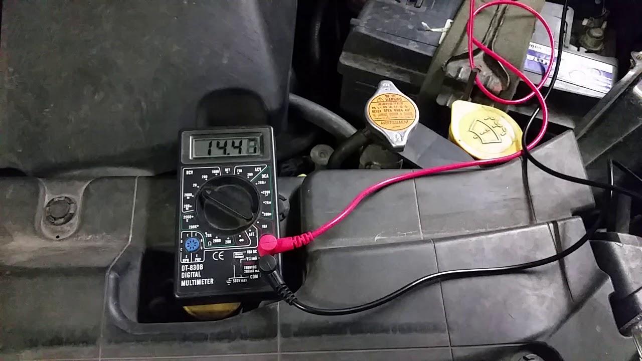 2008 Subaru Tribeca Alternator Charging Measurements Youtube Wiring Diagram