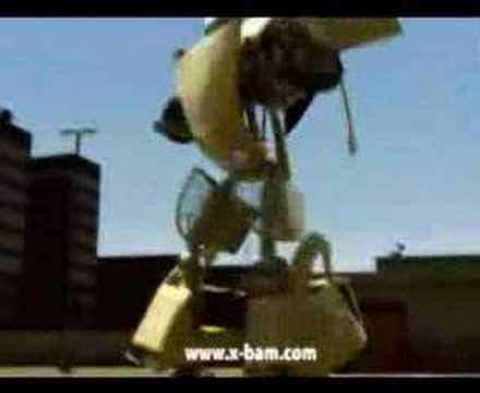 Citroen Robot Dancing