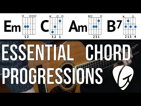 Chord Progression Practice - Em C Am B7