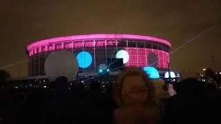 Фестиваль Света: Световое шоу около СКК (ПЕРВЫЙ ПОКАЗ) С-ПЕТЕРБУРГ 3.11.2018