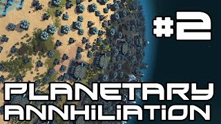 Planetary Anhiliation AI Skirmish - Nukes! #2
