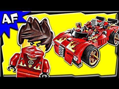 KAI's X1 NINJA CHARGER 70727 Lego Ninjago Rebooted Stop Motion Set Review