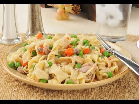 How to Make Tuna Noodle Casserole with CheeseYouTube