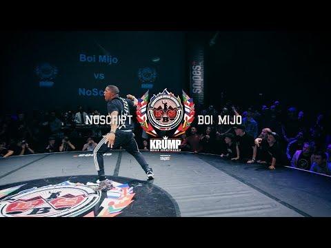 Noscript vs Boi Mijo | Male Top 16 | EBS 2017