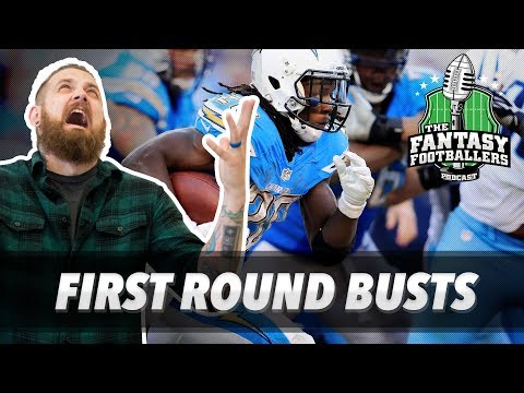 Fantasy Football 2017 - First Round Busts + Saturday Surprises - Ep. #394