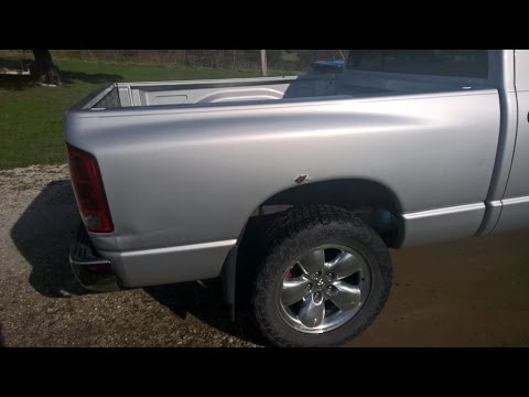 Pickup Truck Bed Liners >> Truck Bed Rusting Out Adding Rear Wheel Liners - YouTube