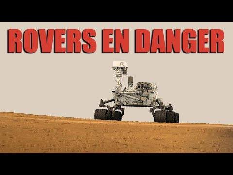 Mars - Les rovers Curiosity et Opportunity en danger ! - EC