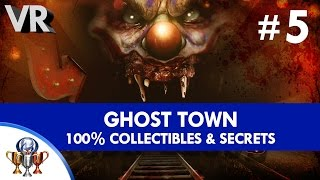 Until Dawn Rush of Blood 100% Psychotic -  Collectibles (All Skittles & Secrets) - Ghost Town