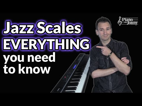 Jazz Scales (EVERYTHING you need to know) ✅