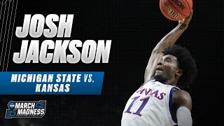 Michigan State vs. Kansas: Josh Jackson drops 23 points as Jayhawks advance
