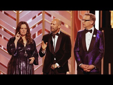 Thumbnail: Jason Statham Speech At The Golden Globe Awards 2016. HDTV