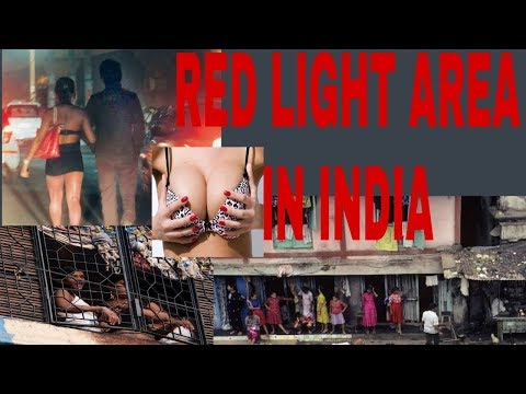 Red light area in India!! Unknown mystery